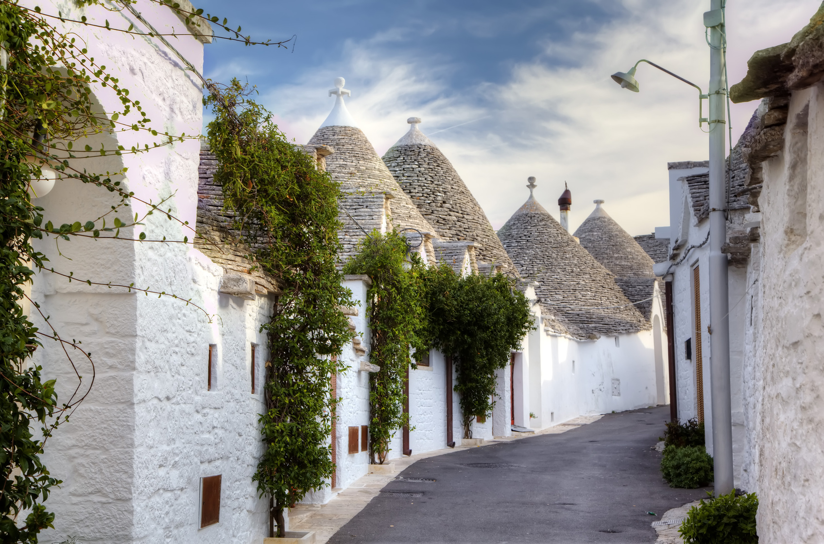 Trulli of Alberobello. Italy